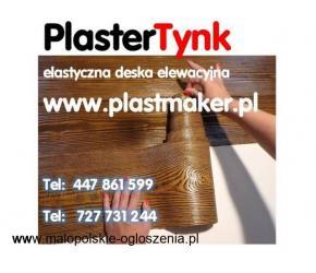 PlasterTynk elastyczna deska elewacyjna